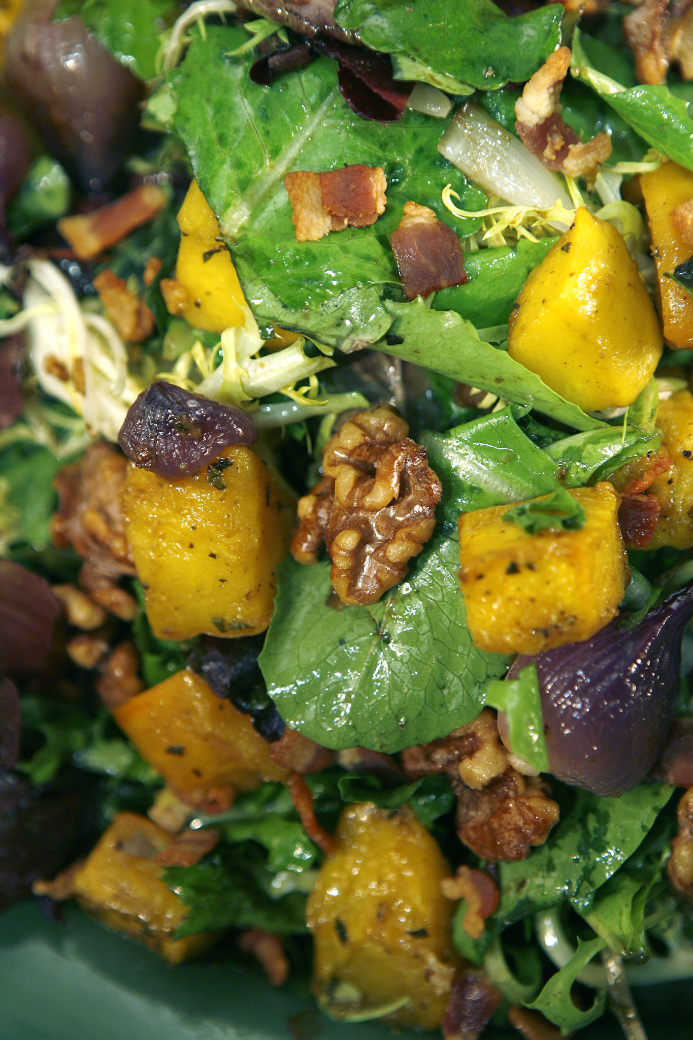 Photos: 97 great Thanksgiving recipes - Roasted pumpkin salad