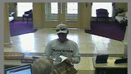 Maryland State Police were investigating a Monday afternoon robbery of the Frederick County Bank on Commerce Street.