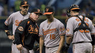 Three unearned runs sink the Orioles in 5-3 loss to the Tampa Bay Rays