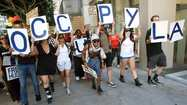 Occupy Los Angeles rally