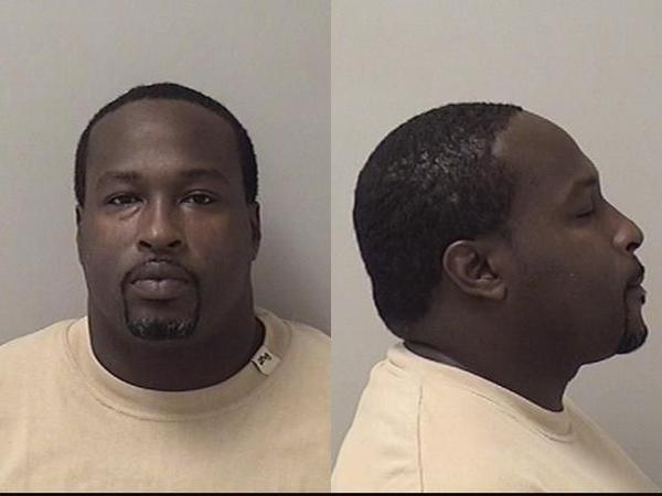 A mugshot of Alex M. Robinson, 37.