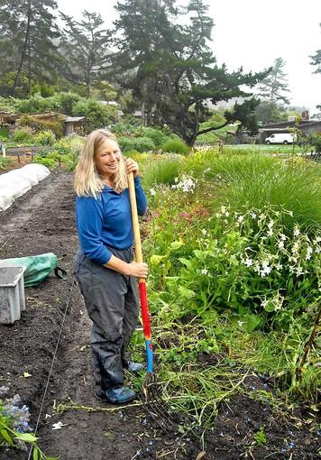 Shirley Ward, Esalen Farm and Garden