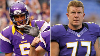 Vikings punter Chris Kluwe responds to Ravens center Matt Birk'…