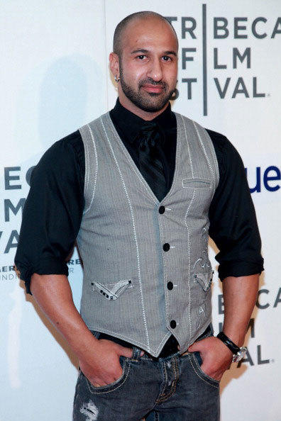 Professional wrestler Shawn Daivari attends 'Mansome' Premiere during the 2012 Tribeca Film Festival at the Borough of Manhattan Community College on April 21, 2012 in New York City.