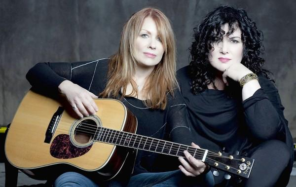 Sisters Nancy and Ann Wilson of Heart perform Oct. 6 at MGM Grand at Foxwoods.