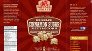 Dale and Thomas Popcorn is voluntarily recalling bags of its flavored, ready-to-eat Indiana-brand products due to a possible Listeria monocytogenes contamination, according to the Food and Drug Administration.