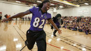 Torrey Smith at Linton Springs Elementary [Pictures]