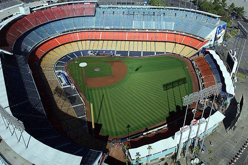 Modern architecture of the 1960s - Dodger Stadium