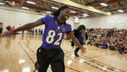 In Eldersburg, Ravens' Torrey Smith takes active role in kids' health