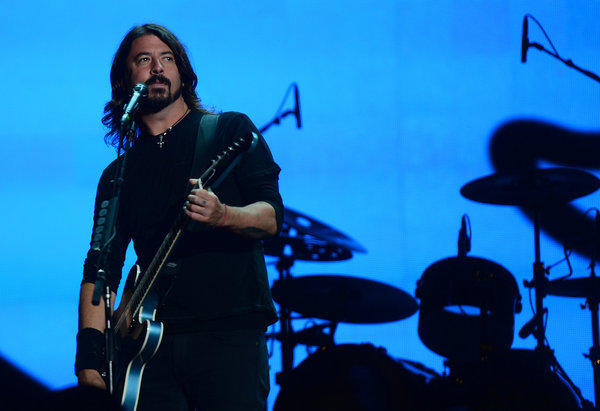 Foo Fighter leader Dave Grohl hinted Saturday night  that the band was breaking up. But that's not the case.