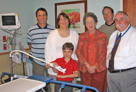 Donation to W.Va. hospital