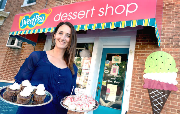 Corry Eagler is a co-owner of Sweet Pea Dessert at 10 W. Baltimore St. in Greencastle, Pa.