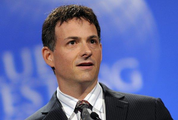 David Einhorn, president of Greenlight Capital, speaks at the Value Investing Congress in New York.