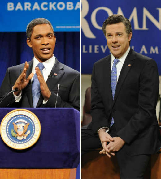 Obama, Romney, Clinton and Bush -- or not: Great presidential impersonators on TV: Election day approaches, and the results could have a life-changing effect on a certain segment of the population. No, not immigrants, millionaires, women, small-business owners or the rest. The people who really feel an immediate effect after each election are the presidential impersonators.   Think about it: When Jason Sudeikis re-upped with Saturday Night Live, didnt you suspect it was because the show was hedging its bets and keeping its best Mitt Romney on staff? And now that Jay Pharaoh had a chance to play Barack Obama, you know he must be chanting Four more years -- of steady paychecks!   So as you watch the debates and decide who to support at the ballot box, take a look at these once -- and possibly future -- presidential impersonators.