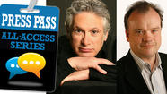OCT 16 | Press Pass: Chris Jones with Harvey Fierstein