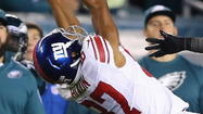 Domenik Hixon, WR, Giants