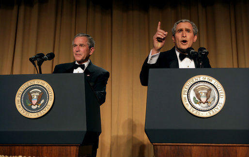Obama, Romney, Clinton and Bush -- or not: Great presidential impersonators on TV: Bridges was the presidential impersonator of choice for shows like JAG, NCIS and even the White House Correspondents dinner.