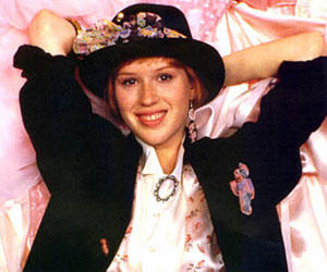 <B>Molly Ringwald in 'Pretty in Pink'</B><br>