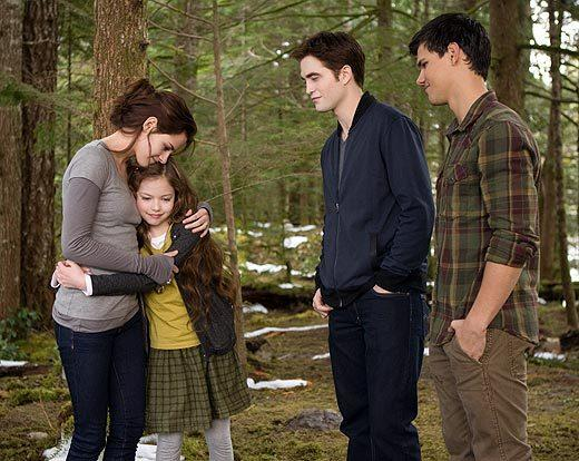 'The Twilight Saga: Breaking Dawn - Part 2' pictures: Bella, Renesmee, Edward and Jacob