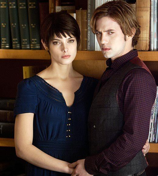 'The Twilight Saga: Breaking Dawn - Part 2' pictures: Alice and Jasper