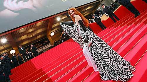 Red carpet daring at Cannes