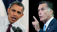 WASHINGTON — Not since Rocky Balboa met Apollo Creed have so many greeted a matchup with as much anticipation as Wednesday night's debate between Barack Obama and Mitt Romney.