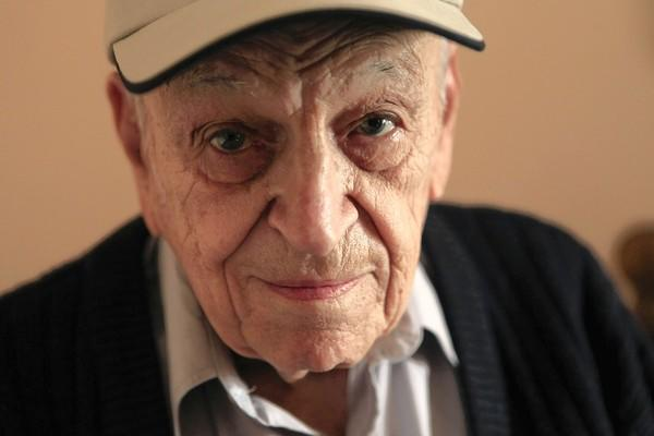 World War II veteran Robert Friedrich lives at the Irving Park YMCA.