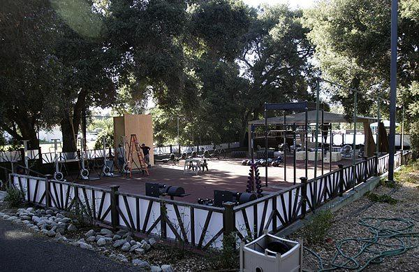 "The TV show ""The Biggest Loser"" is shot on the grounds of King Gillette Ranch."