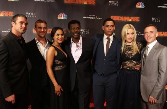 """Chicago Fire"" cast"