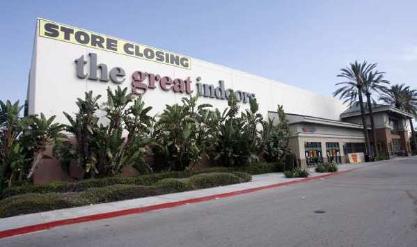 The former Great Indoors at the Empire Center in Burbank, where Burbank plans to move in.