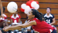 Photo Gallery: Burroughs v. Pasadena Pacific League girls volleyball