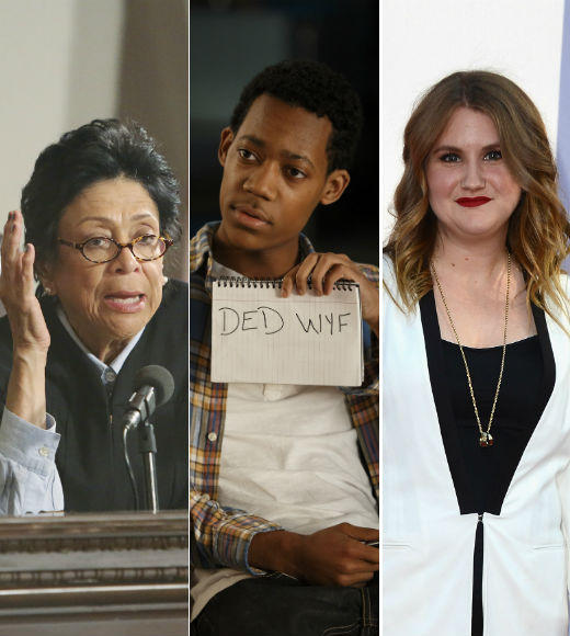 Hey, it's that guy! Putting names to familiar TV faces: Ever watch a TV show but cant fully enjoy yourself because youre desperately trying to remember why that first Law & Order suspect looks so familiar? Zap2it is here to help. Weve taken note of some familiar faces popping up throughout the Fall TV premiere season and figured out where, exactly, weve seen them before. Click through to find out why the judge from the Scandal premiere sounds just like Miss Patty from Gilmore Girls and why that kid from Go On looks so familiar...