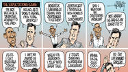Obama and Romney try to hide their presidential debate skills
