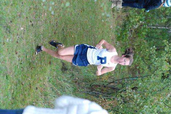 Petoskey's Sydney Hopp finished a team-best 12th in 20 minutes, 48 seconds to lead the Northmen Tuesday at a Big North Conference meet in West Branch.