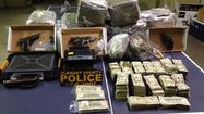 Big pot bust with lots of drugs, cash and guns