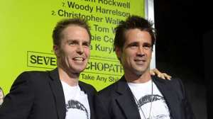 Colin Farrell crazy for Chris Walken at 'Seven Psychopaths' debut