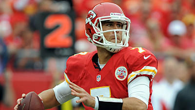 Ravens preparing for the Chiefs' Matt Cassel to be under center