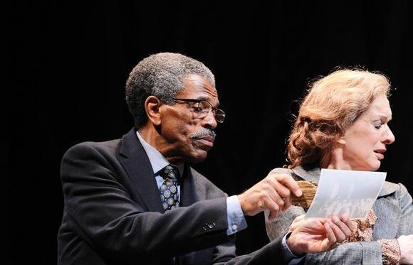 """The Gospel According to James"" with Andre De Shields and Linda Kimbrough."