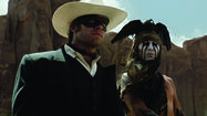 Photos: Johnny Depp and Armie Hammer in 'The Lone Ranger'