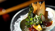 To eat at Next is to share skull space with some of the most creative culinary minds in America. That is manifestly apparent after one dines at Kyoto, the sixth production, if you will, of Next's culinary repertory.