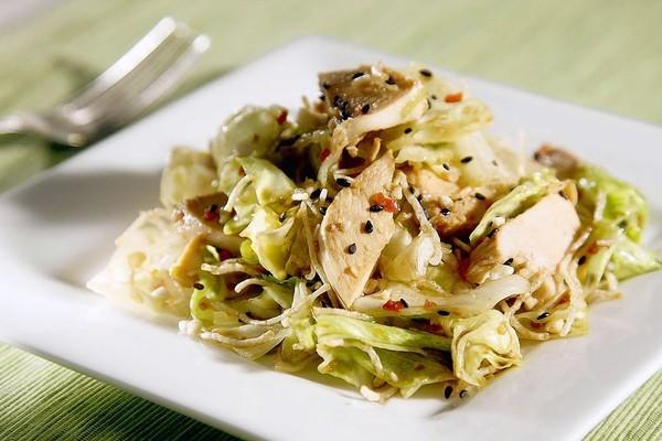Chi Dynasty's Chinese chicken salad.