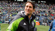 "In what is believed to be a first in U.S. professional sports, the Seattle Sounders FC announced Wednesday that it will allow season ticket holders and 'Alliance' members to vote to retain General Manager Adrian Hanauer or to cite a ""lack of confidence"" in his leadership."
