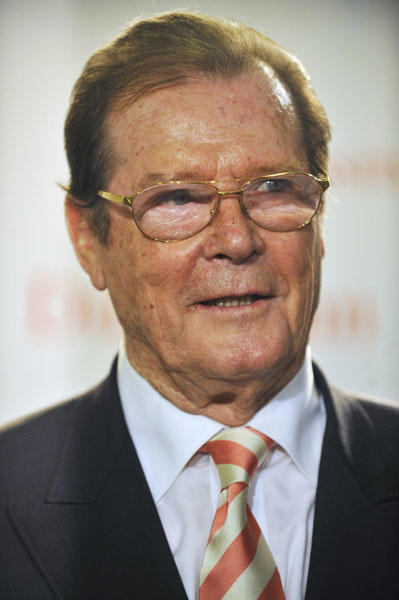 "<a class=""taxInlineTagLink"" id=""PECLB003257"" title=""Roger Moore"" href=""/topic/entertainment/roger-moore-PECLB003257.topic"">Roger Moore</a> is 83 today (JOHN MACDOUGALL/AFP/Getty Images)"