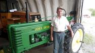 Walker with John Deere H