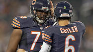 Coach Lovie Smith is eager for the play of the offensive line not to be a headline, and quarterback Jay Cutler sure would like his sideline decorum to be a non-issue.