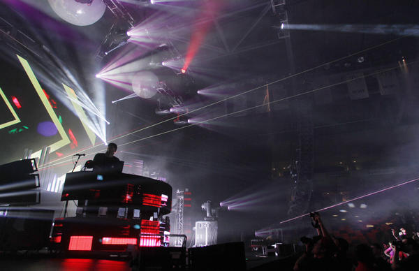 Pretty Lights performs at UCF Arena on Wednesday, October 3, 2012.