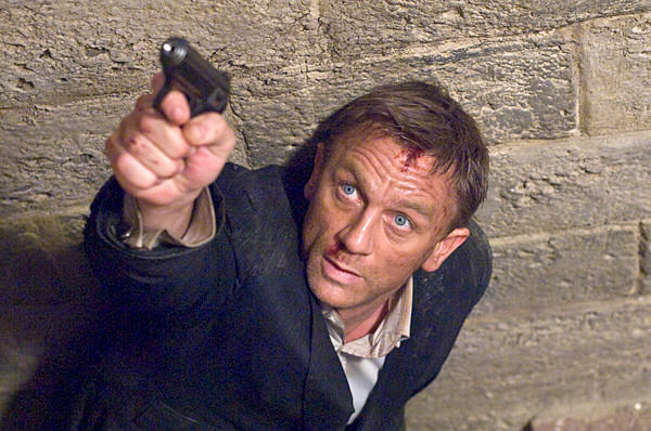 "Daniel Craig portrays James Bond in a scene from ""Quantum of Solace,"" the 22nd film in the franchise."