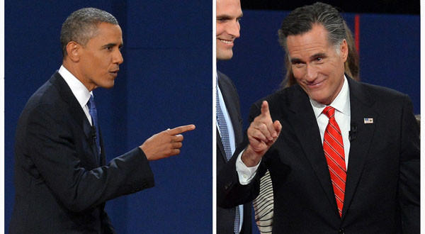 President Obama's campaign said he won Wednesday's debate. Mitt Romney's camp said its candidate prevailed.