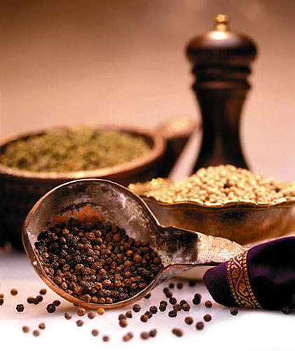 """One of the simplest seasonings in your spice rack reaps significant rewards.<br> <br> """"Black pepper provides zero calories and adds a lot of punch to meals,"""" notes Elisa Zied, M.S., R.D., author of """"Nutrition at Your Fingertips."""" But that's not all. Considered so precious in ancient times it was used as currency, black pepper has been valued for its culinary properties, which include enhancing flavor as well as preserving freshness. And capsaicin, the substance that gives pepper its heat, has anti-cancer effects and works to reduce inflammation, a root of chronic disease."""
