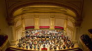 Muti, CSO open tour with lusty 'Carmina Burana' at Carnegie Hall